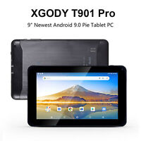 """XGODY 9"""" Android 9.0 Tablet 2*Camera WiFi 1.5GHz Quad-Core 4200mAh Large battery"""