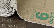 Premium Luxury Comfort Cloud 9 11mm Thick Foam Carpet Underlay Various Sizes 20 Square Metres