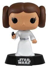 """Star Wars Princesa Leia 3.75"""" Vinilo Figura Pop Funko Bobble Head"""