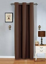 "Grommet BLACK OUT  Window Curtain Drape panel 54""x84""each"