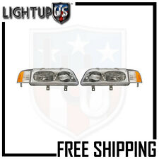 HEADLIGHT LAMP PAIR (LEFT AND RIGHT SET) FOR 91-95 ACURA LEGEND SEDAN ONLY