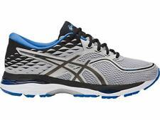 Asics Men's Gel-Cumulus 19 Running Shoe, Grey/Black/Directoire Blue, 8 D(M) Us