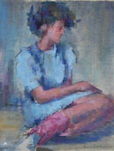 Fiona Goldbacher - Important British artist - Seated figure