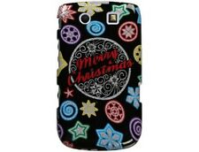 Durable Plastic Design Phone Cover Sparkle Christmas For BlackBerry Torch 9800