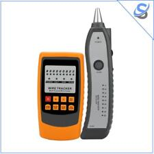 Handheld Wire Tracker And Tester Cable Tracing Testing Shorts Detection Voltage