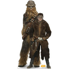 HAN SOLO & CHEWBACCA Solo: A Star Wars Story CARDBOARD CUTOUT Standup Standee