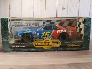 Ertl American Muscle 1997 Thunderbird #16 Ted Musgrave NASCAR 1:18 Stock Car