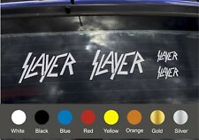 Slayer Decals - (x 4 total )