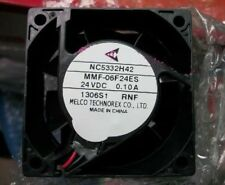 MITSUBISHI NC5332H42 MMF-06F24ES-RNF 60x25mm Fan MR-J2S 24V 0.10A  530-1