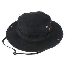 wasserdichter Boonie Hat Outdoor Hut schwarz 56-62cm K8o6