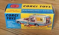 Corgi 486 Kennel Service Wagon Empty Repro Box