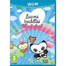 Pal version Nintendo Wii u Luv me Buddies Wonderland English/espanol/it/fr/de
