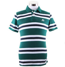 Aeropostale Men Short Sleeve Stripe A87 Jersey Polo Shirt Style 4483 -Free Ship