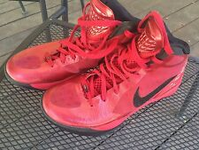 Nike Zoom Hyperdunk Men 8 Black Red, No Box