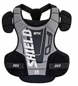 New STX Lacrosse Shield 200 Chest Protector, Size: Small