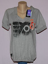Touch Philadelphia Flyers Womens Primary Logo Hooded T-Shirt LRG - NHL