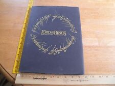 The Lord of the Rings Special Deluxe Gift Edition HC book Return of the King HTF