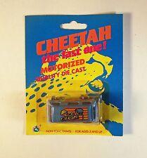 Vintage 1980's Cheetah Motorized Quality Die Cast -Toyota Van