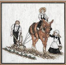 Cross stitch Gentle Unity Stoney Creek Booklet  21 Amish patterns