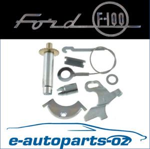 F100 F150 F250 Bronco Premium Rear Drum Brake Self Adjuster Kit LH: 1967-2009