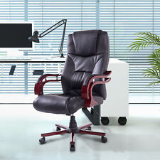 Executive Computer Desk Chair High Back Ergonomic Swivel Office Chair BK