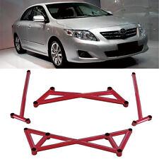 KK Front/Rear Tie Strut Bar 2 Points Racing Stabilizer For Toyota Corolla 08