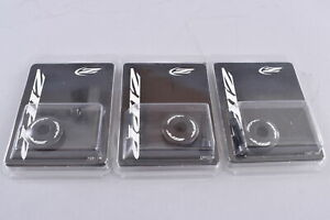 LOT of 3 Zipp Headset Top Caps with T25 Bolts Cycling Road Gravel Cyclocross