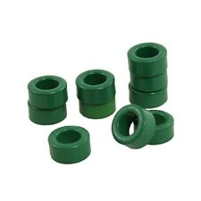 R5G1 100 Pcs Inductor Coils Green Toroid Ferrite Cores 10mm x 6mm x 5