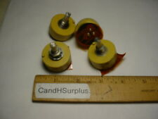 Spectrol #132-238  1K ohm single turn potentiometer lot of 5 pcs