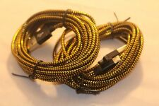 10FT long braided Mobile USB cable data sync Charging cord For LG HTC Cell Phone