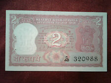 India 2 Rupees Banknote Nd *Unc* $^