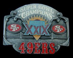 SUPERBOWL XXIX CHAMPIONS SAN FRANCISCO 49ERS VINTAGE 1995 #795/10000 SISKIYOU