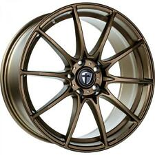 "4x Tomason TN25 Super Light 8,5x19"" 5x112 ET45 72,6 Mattbronze Audi VW Seat Skod"