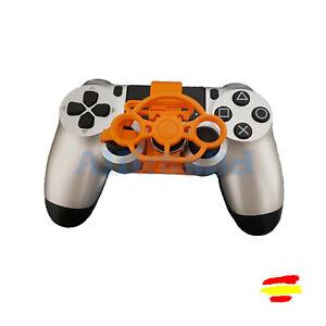 Mini volante para mando playstation PS4 impreso en 3d speed car gamer