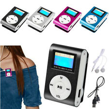 Mp3 Music Player With Digital Lcd Screen Mini Clip Support 32Gb Tf Portable