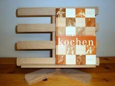 Exklusiver Kochbuchhalter/Bücherständer massiv Buche. Unikat. Handarbeit.Neu