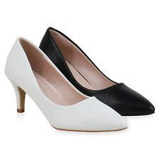 Damen Spitze Pumps Stiletto Klassische Abend 834933 Schuhe