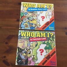 Michael Salmon - WHO AM I IN FAIRYLAND &  BEDTIME STORYLAND GUESS WHO SERIES