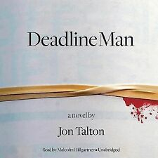 Deadline Man by Jon Talton (2012, CD, Unabridged)