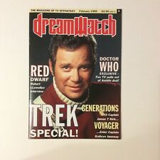 Dreamwatch Magazine #6 — February 1995 — Star Trek / Doctor Who / Red Dwarf