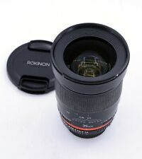 ROKINON 35mm F/1.4 AS UMC MANUAL FOCUS LENS FOR NIKON DSLR CAMERAS