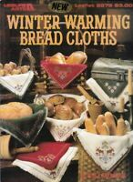 Winter Warming Bread Cloths in Counted Cross Stitch 1992 Leisure Arts 2279