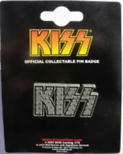 KISS Pin Badge Spilletta Logo OFFICIAL MERCHANDISE