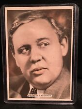 Charles Laughton 1935 Ardath Cigarette Card Movie Poster Vintage Hollywood Film