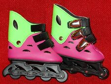 "DOLL Shoes, 69mm Fancy Inline Skates for SD* BJDs, Magic Attic, 18"" Ann Estelle"