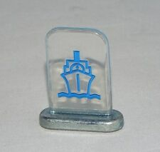 Monopoly Revolution Edition Clear Plastic & Metal Game Token Blue SHIP