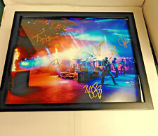 UMPHREY'S MCGEE Band Signed + Framed 11x14 Photo Poster RED ROCKS