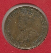 Australia One half penny 1911 George V. Km 22. Schön 13 [22].