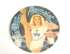 ADESIVO anni '80 / Old Sticker HEATHER PARISI FANTASTICO PARMALAT (cm 10) bianco