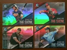 2019 Bowman Chrome Insert Ready for the Show Refractor - You Pick Singles